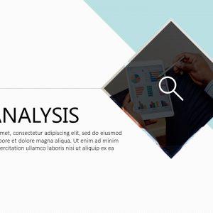 咨询分析PPT模板fm@公众号 黑白间设计